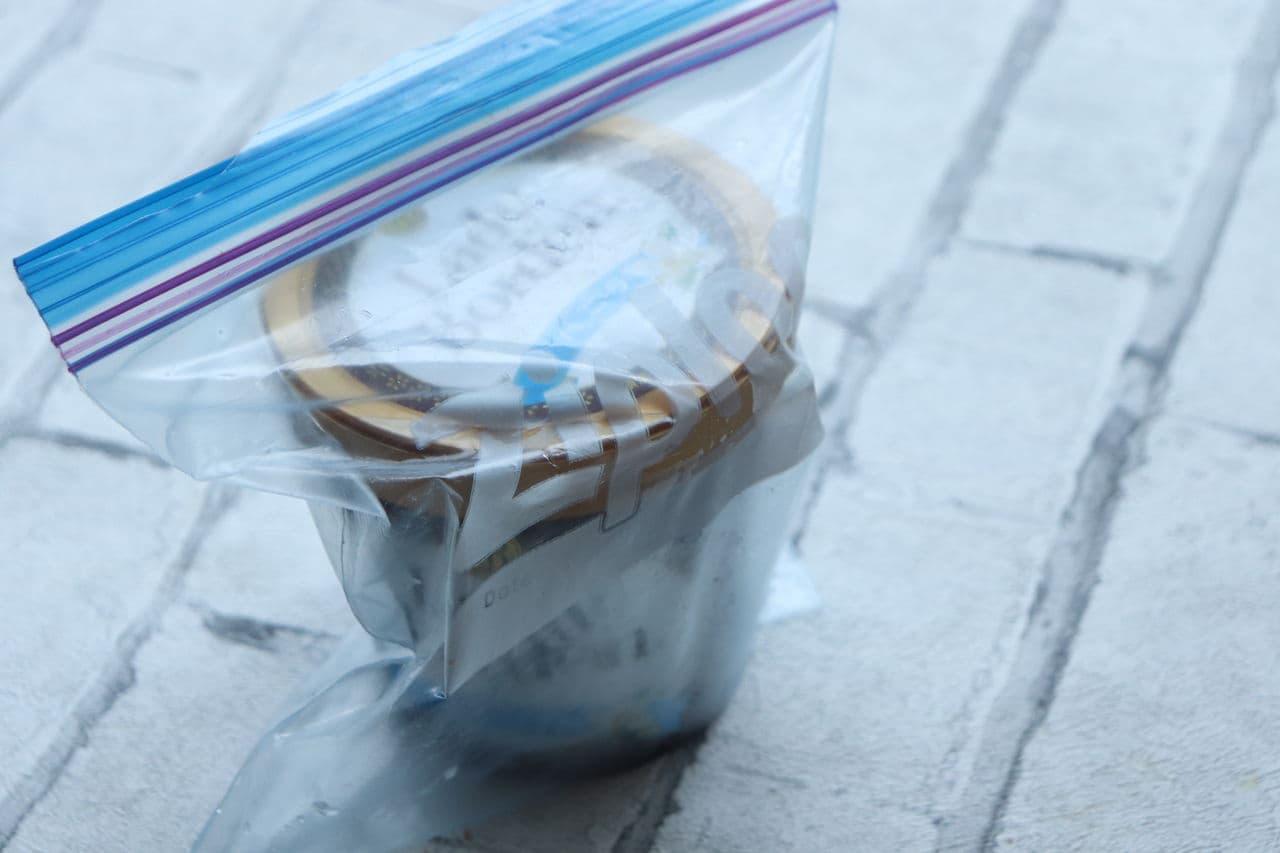 大容量アイスの保存方法