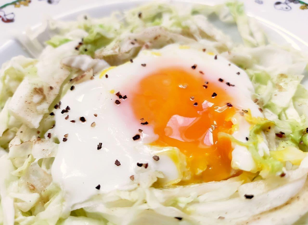 「巣ごもり卵」の簡単レシピ