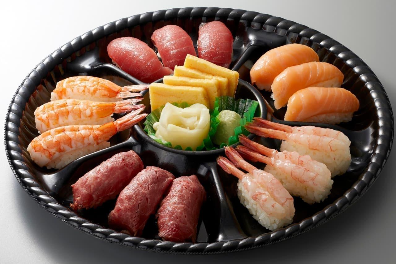 和食さとテイクアウトお寿司メニュー