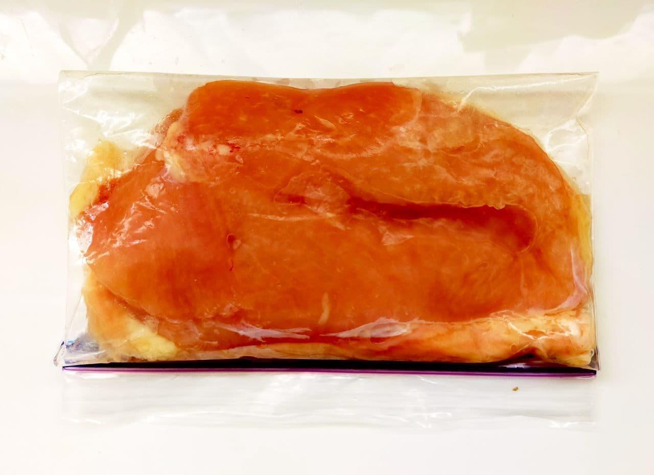 鶏むね肉のしっとり冷凍保存方法
