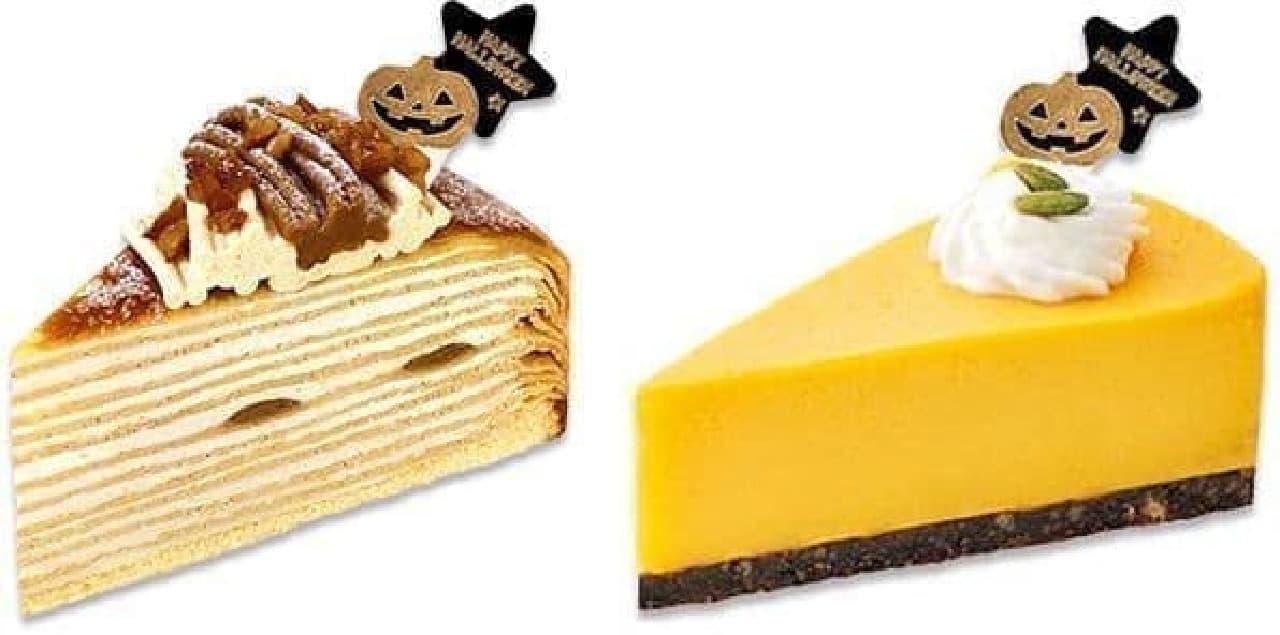 不二家洋菓子店のハロウィンケーキ