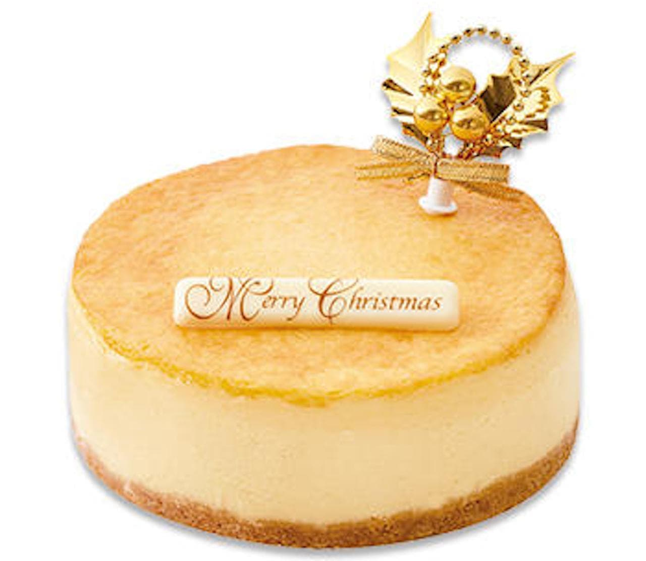 シャトレーゼ「クリスマス濃厚ベイクドチーズケーキ」