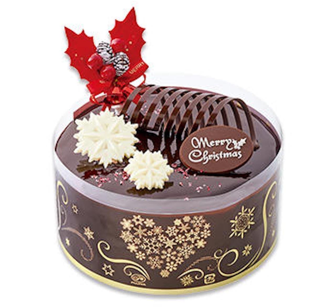 シャトレーゼ「クリスマスプレミアムショコラケーキ」