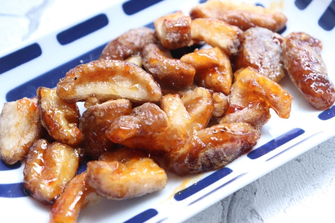「椎茸の甘辛焼き」レシピ