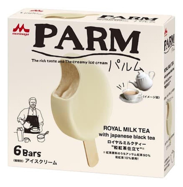 森永製菓「パルム ロイヤルミルクティー~和紅茶仕立て~」