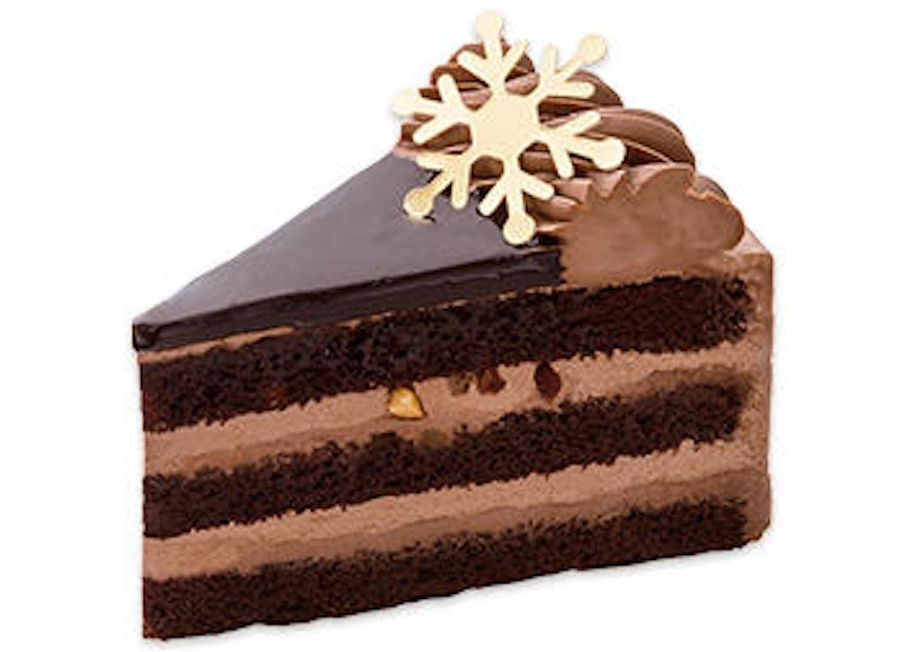 不二家「クリスマスショコラケーキ」