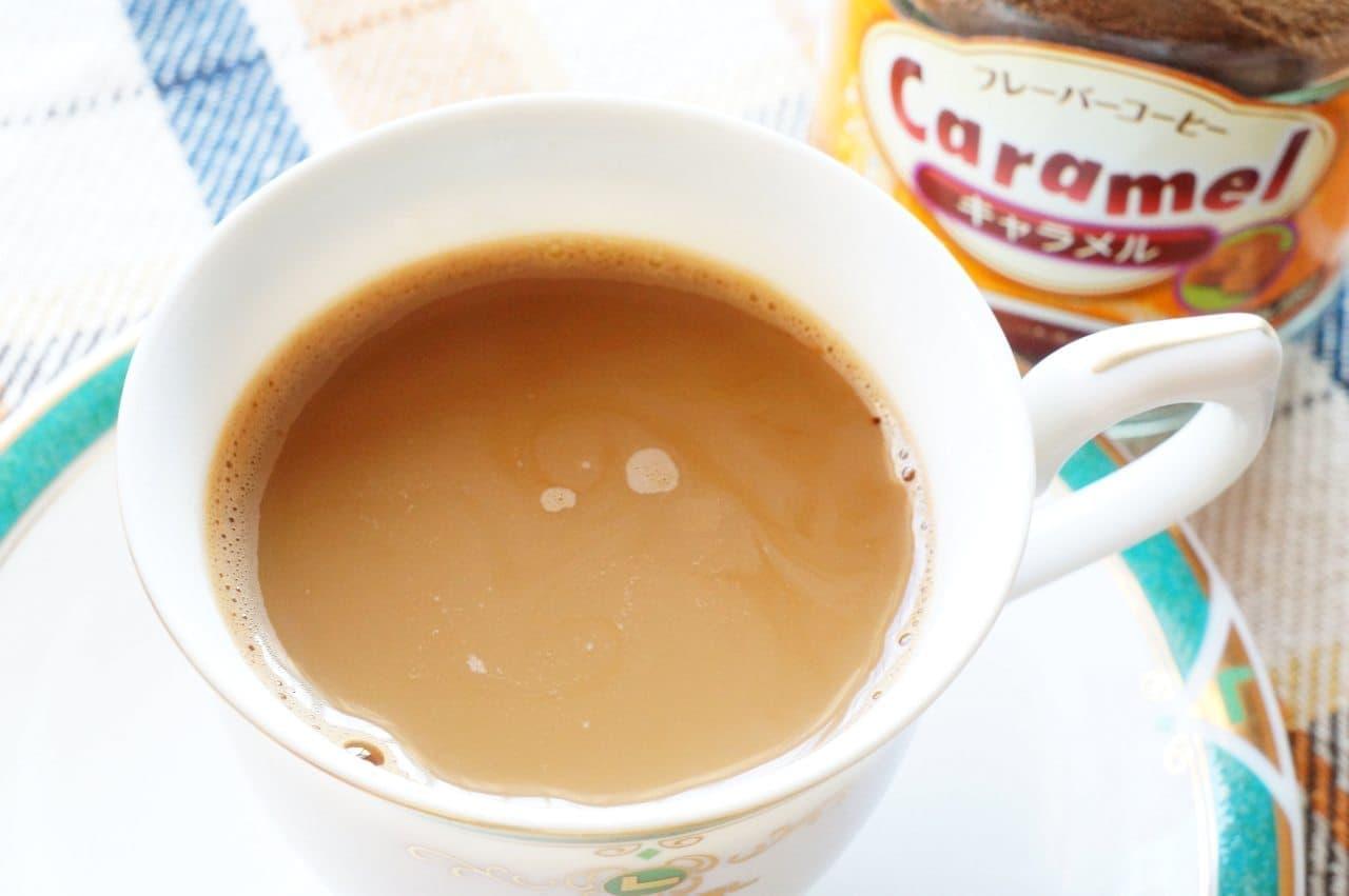ファームランドのフレーバーコーヒーキャラメル