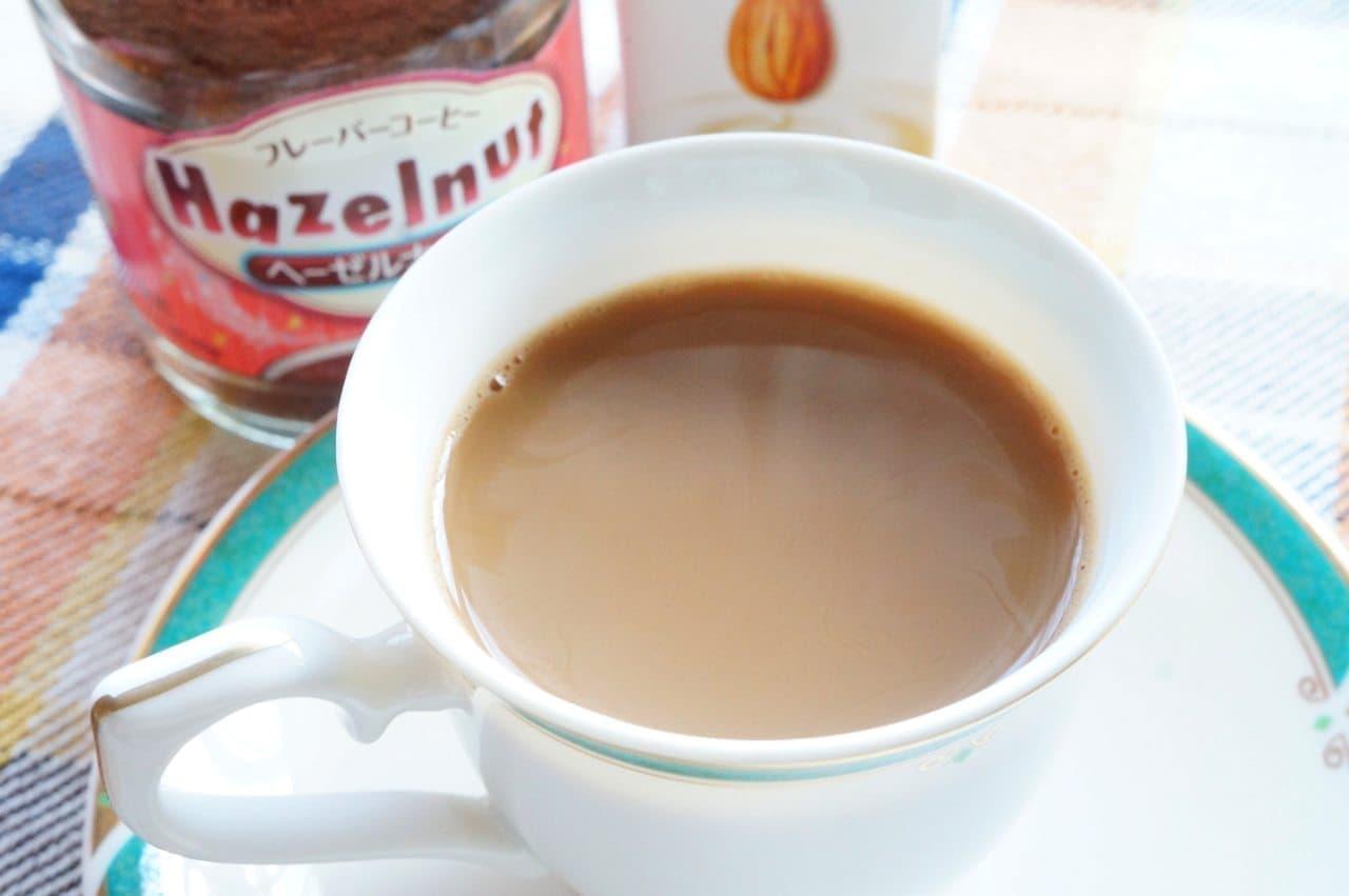 ファームランドのフレーバーコーヒーヘーゼルナッツ