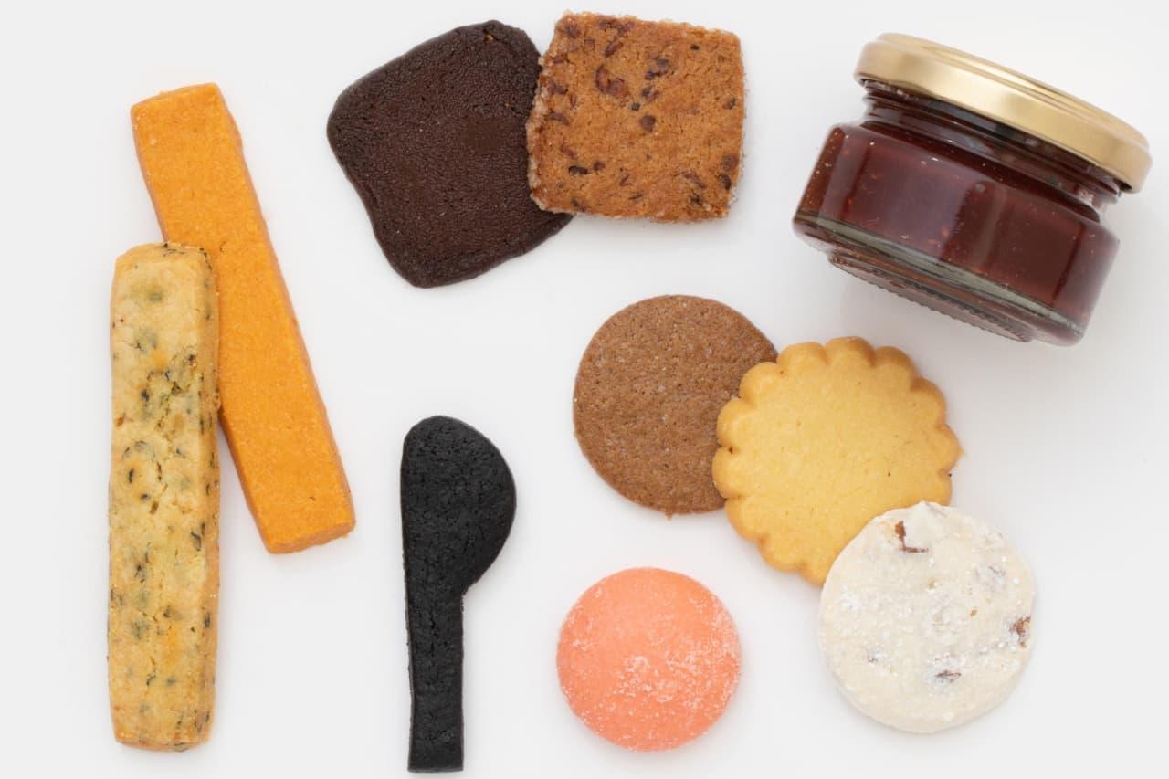 ほぼ日のクッキー缶
