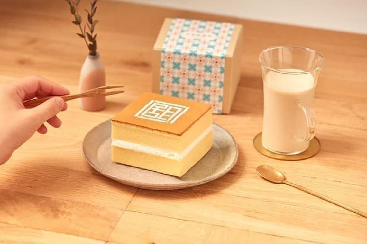 台湾甜商店の「甜カステラ・ホイップ」