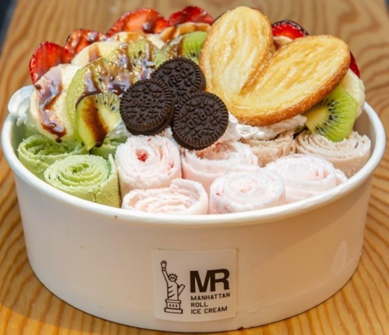 「マンハッタンロールアイスクリーム」Cake.jpに出店