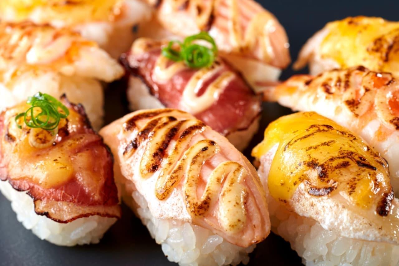 「和食さと」焙り寿司食べ放題