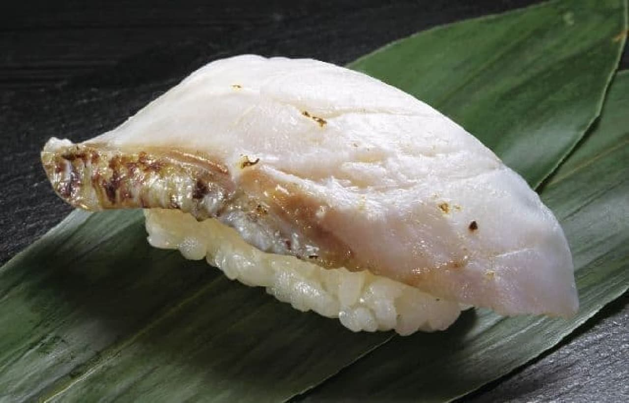 くら寿司「絆真鯛塩〆炙り」