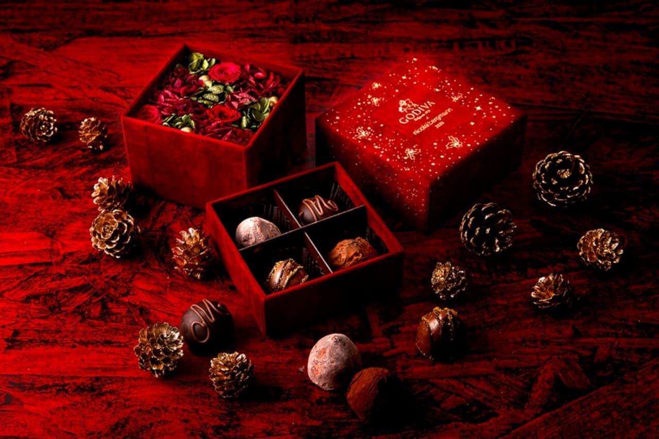 ゴディバ × ニコライ バーグマン 華あるスイートなクリスマスのひと時