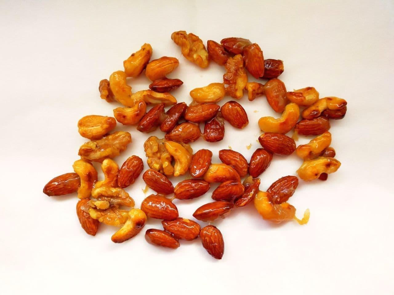 カラメルナッツの簡単レシピ