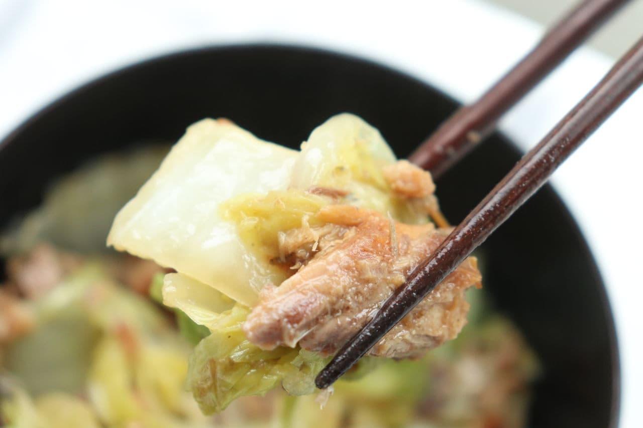 白菜とサバの味噌煮