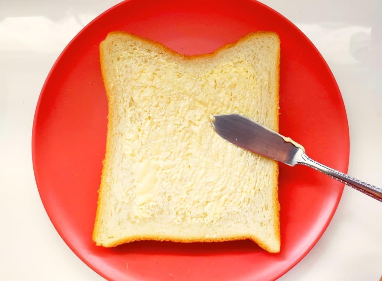 フライパンで作れる「柿とチーズのホットサンド」簡単レシピ