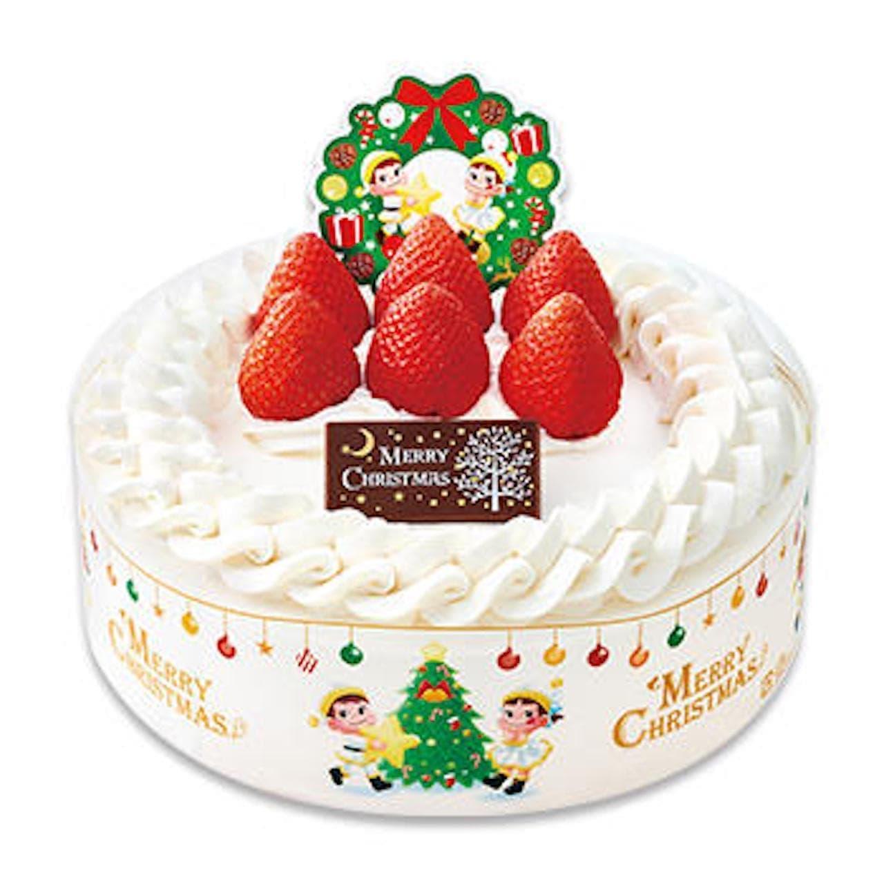 不二家「クリスマスショートケーキ」