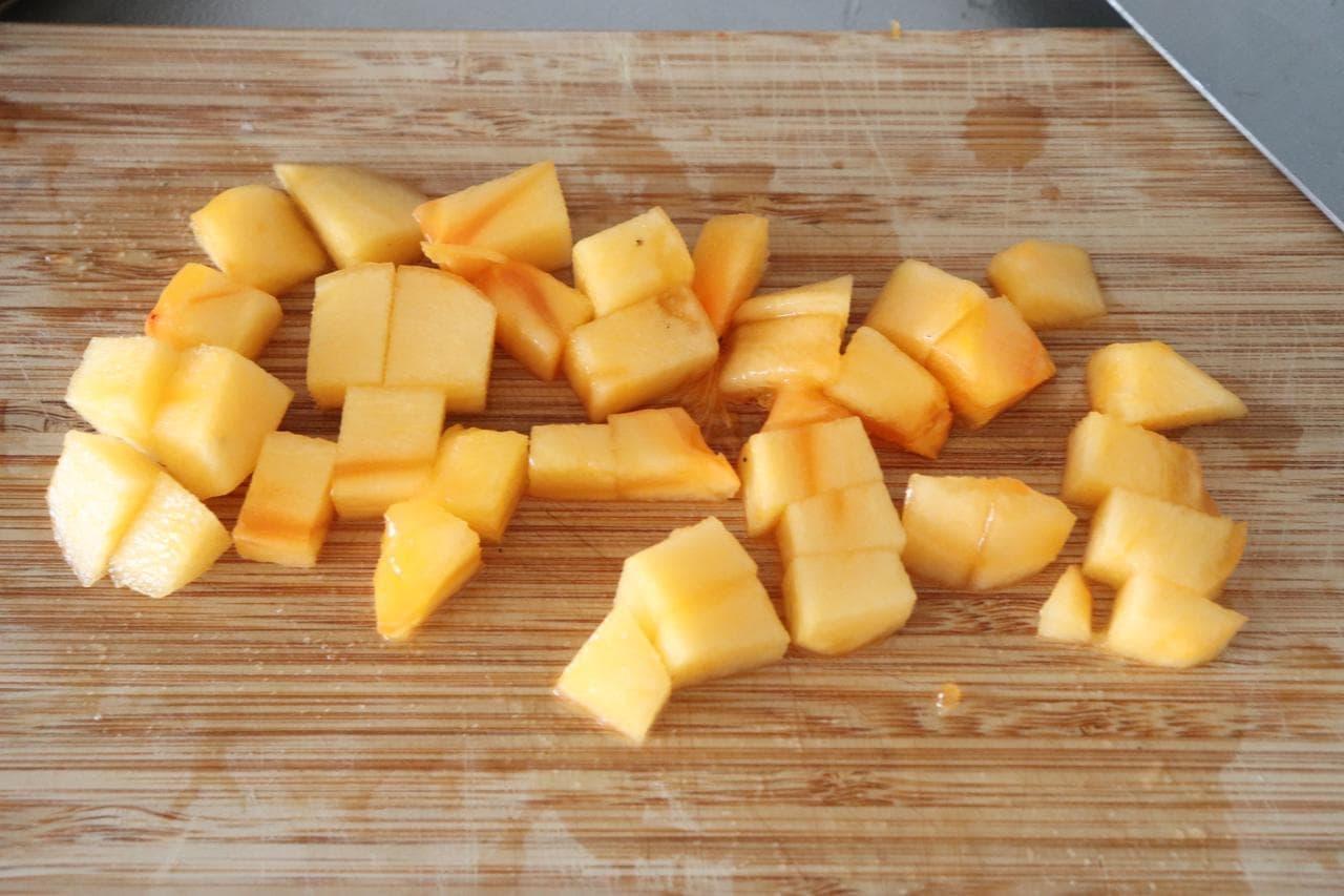 柿の白和えレシピ