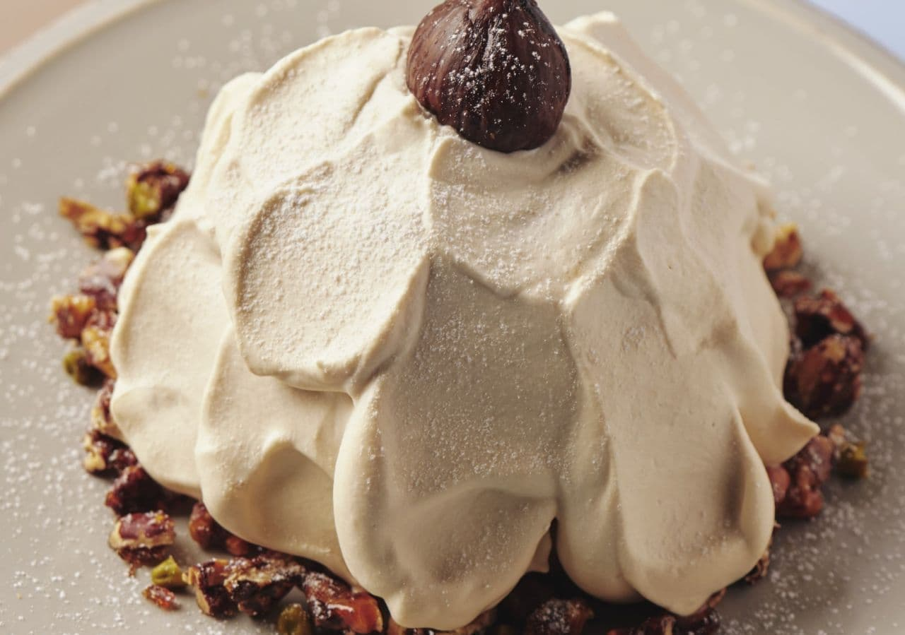 FLIPPER'S「奇跡のパンケーキ 西尾ほうじ茶と中山栗のモンブラン」