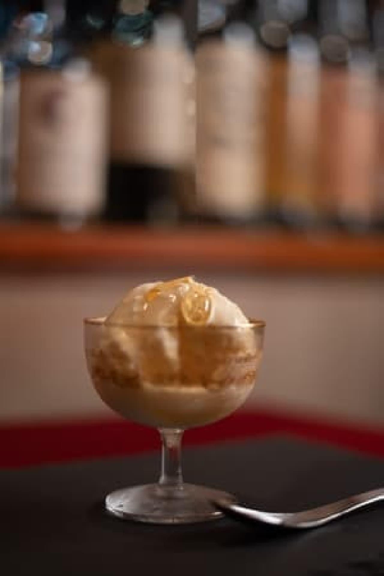 焼き芋カクテル「酔う焼き芋」をかけたアイス