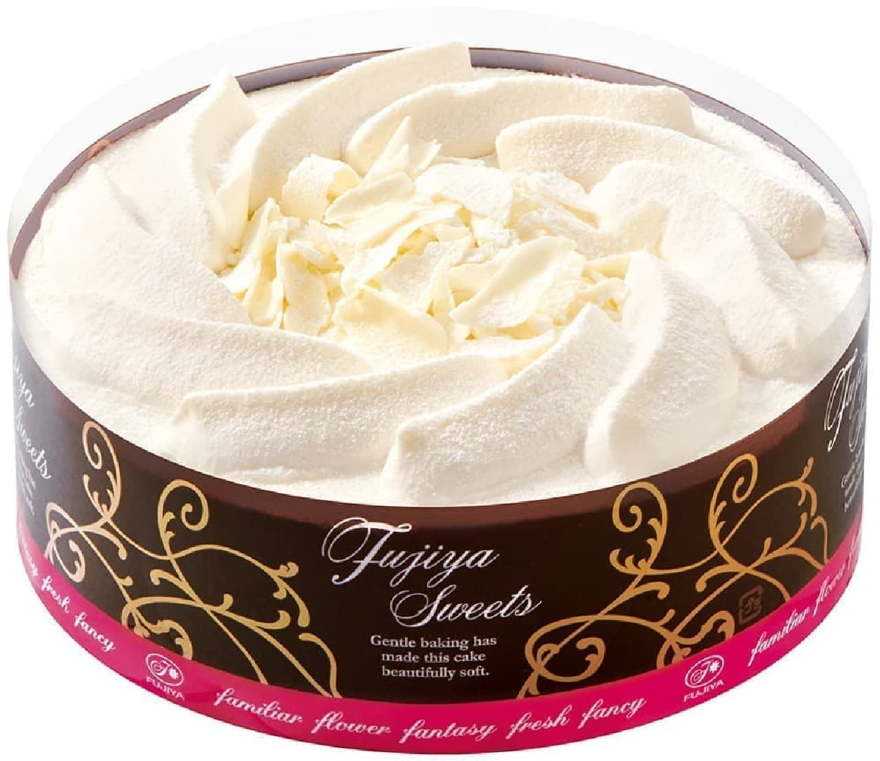 不二家のネットショップに「糖質オフ ホワイトチョコ生ケーキ」