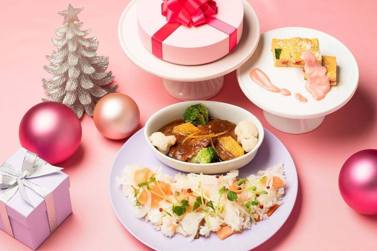 ヒルトン東京ベイの新デザートビュッフェ「ドレスアップ・フォー・クリスマス!」