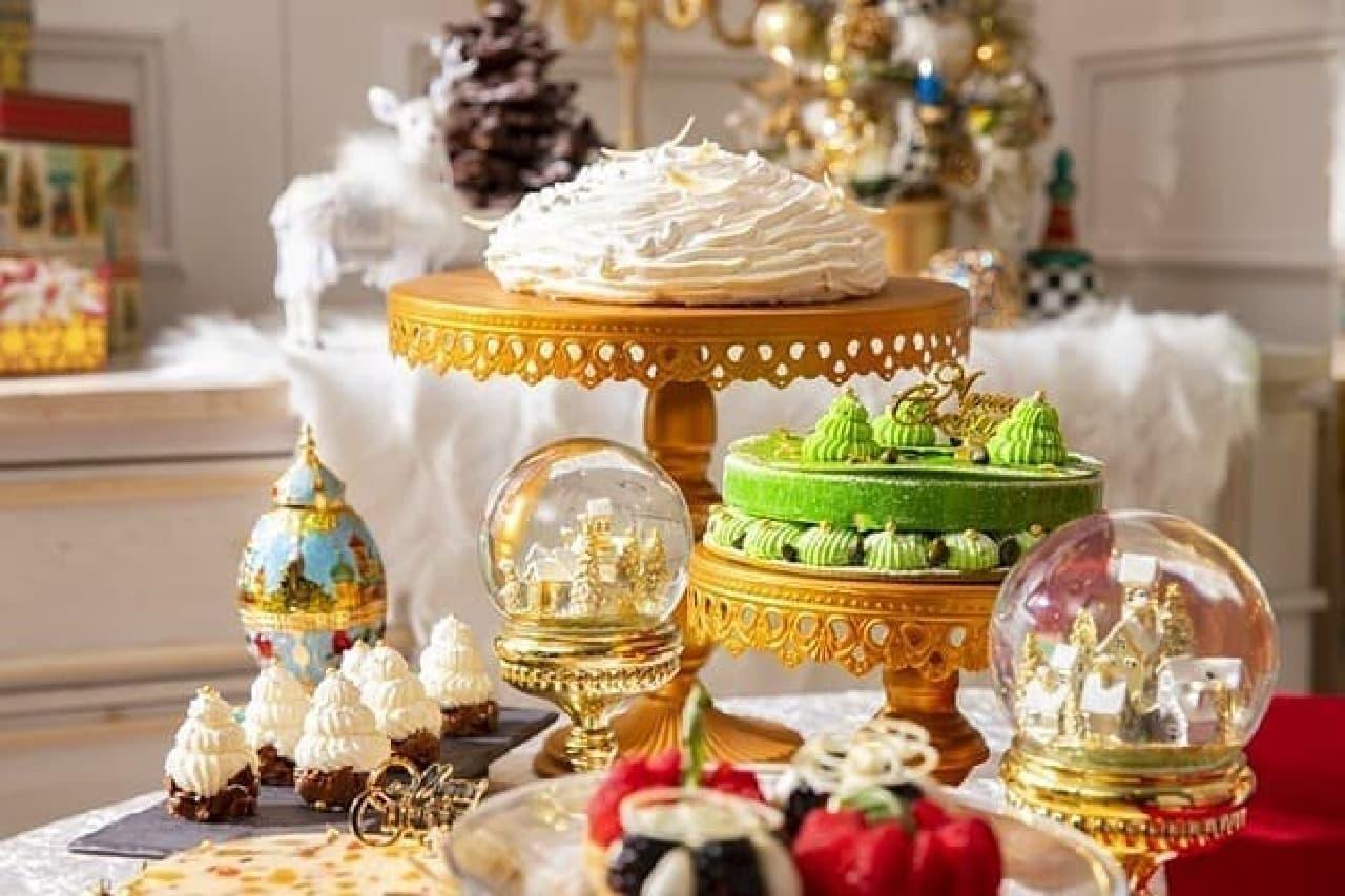 ヒルトン東京のクリスマス・スイーツビュッフェ「クリスマス マジカル・ウィンドー」