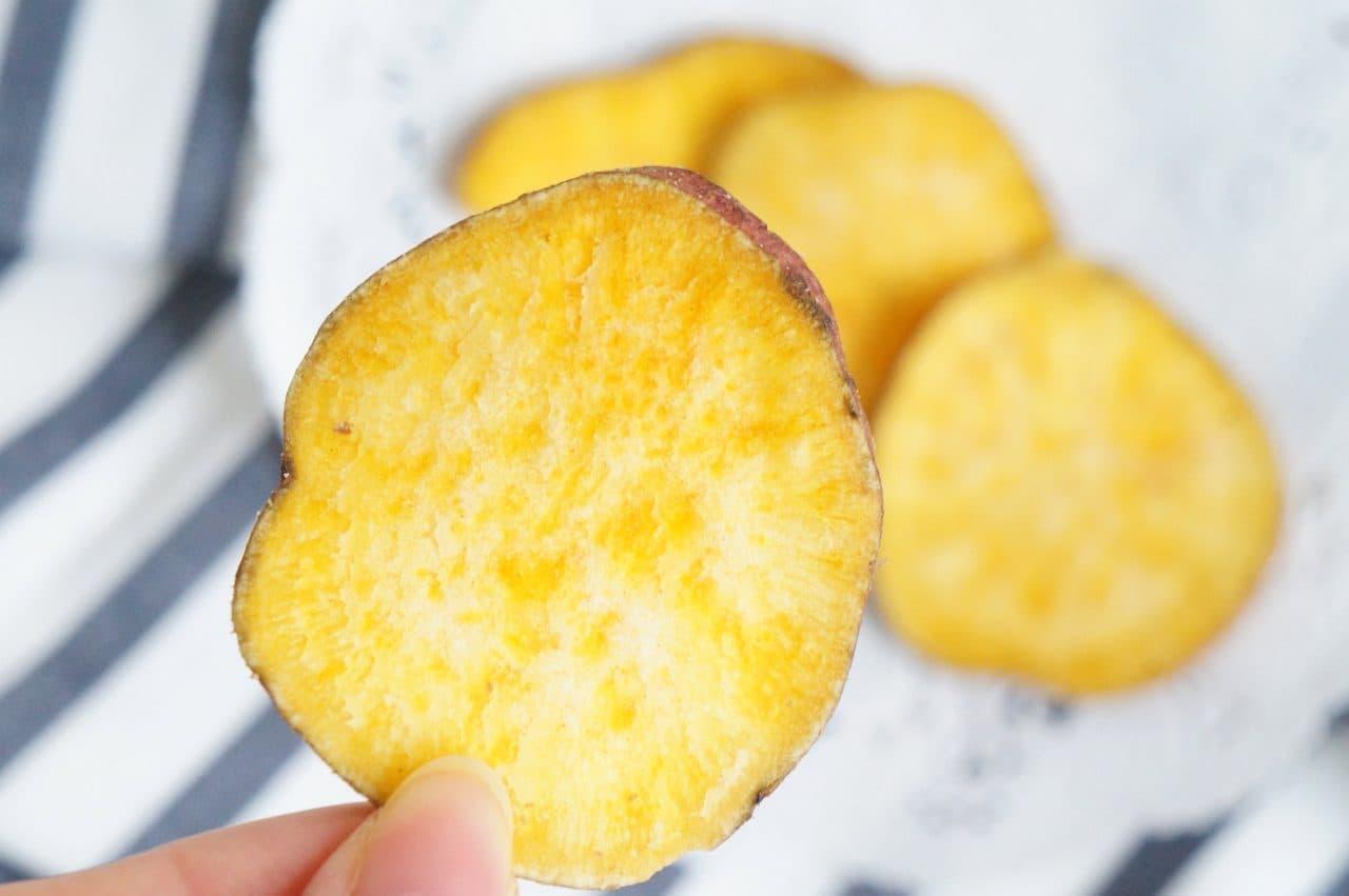 セブンプレミアム「安納芋チップス」
