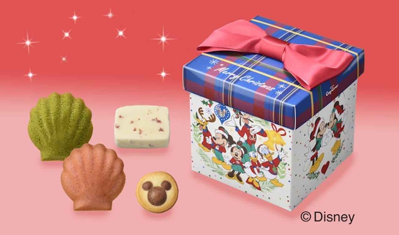 「ディズニーデザインのクリスマス限定スイーツギフト」銀座コージーコーナーから