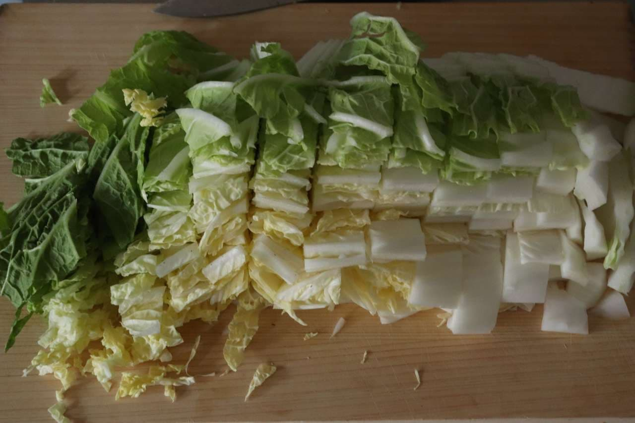 白菜とツナの煮物
