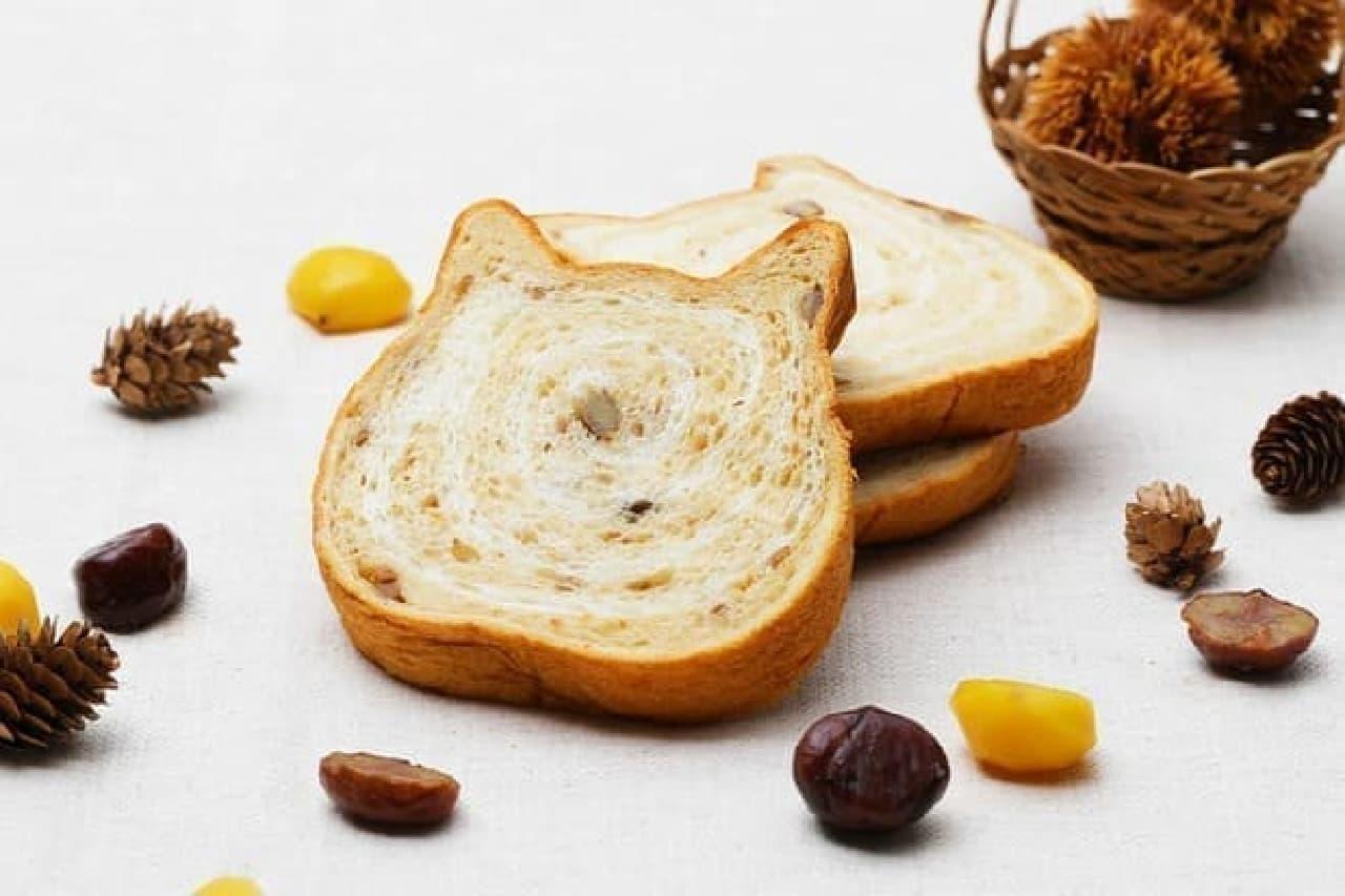 ねこねこ食パン モンブラン