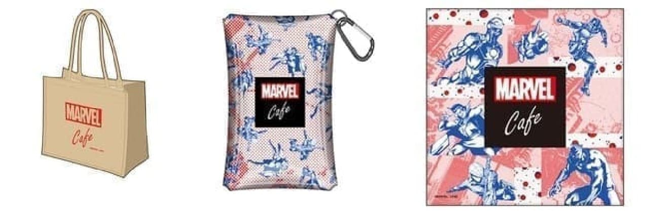 「MARVEL」cafe produced by OH MY CAFEオリジナルグッズ