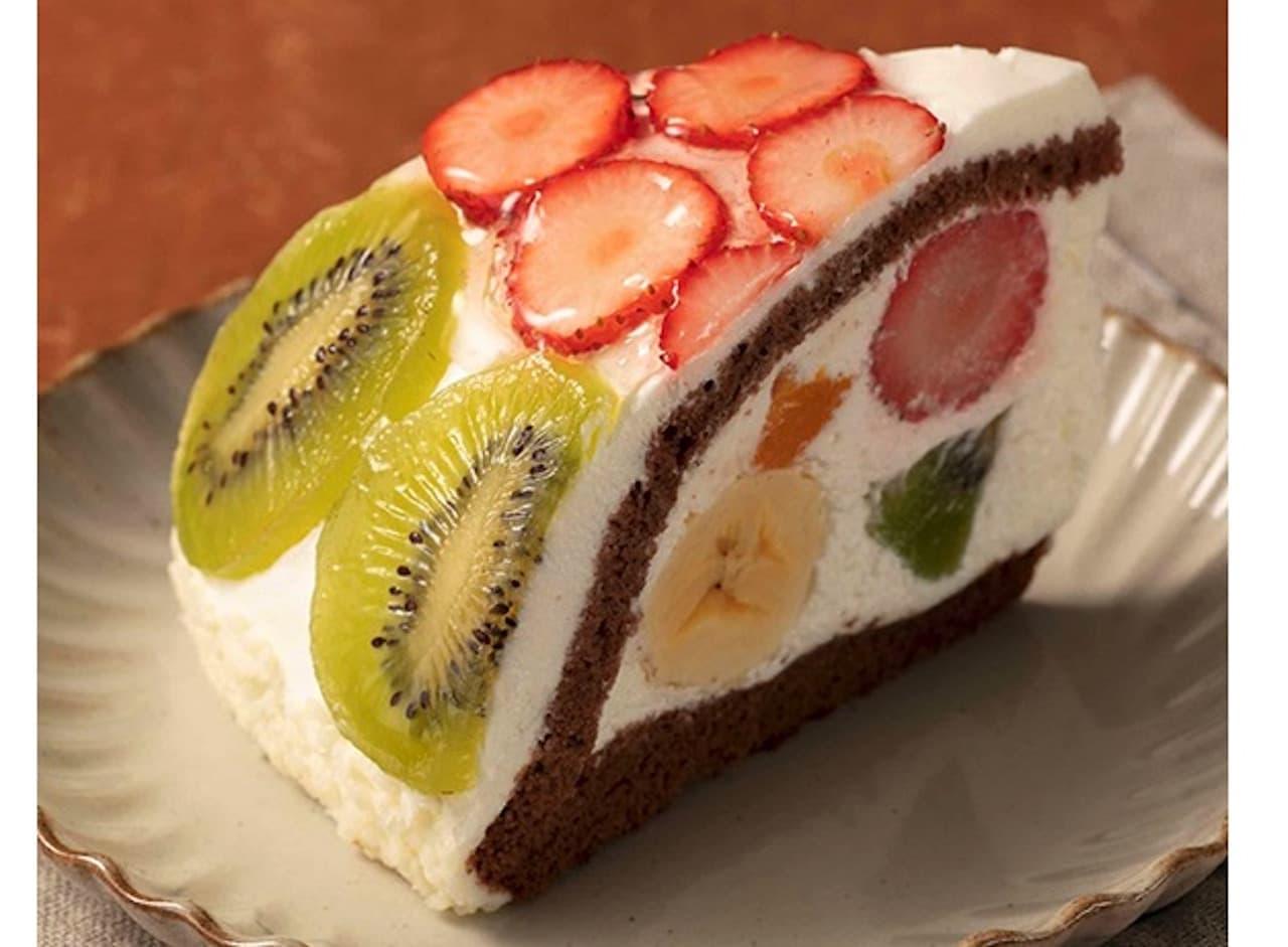 シャトレーゼ「果実いっぱいフルーツボンブ」