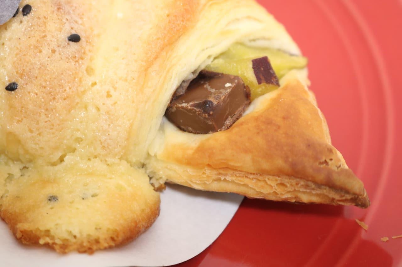サンマルクカフェ「スイートポテトチョコクロ」