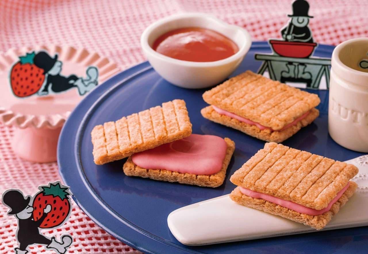 シュガーバターの木 阪急うめだ店に「シュガーバターサンドの木 あまおう苺バター」