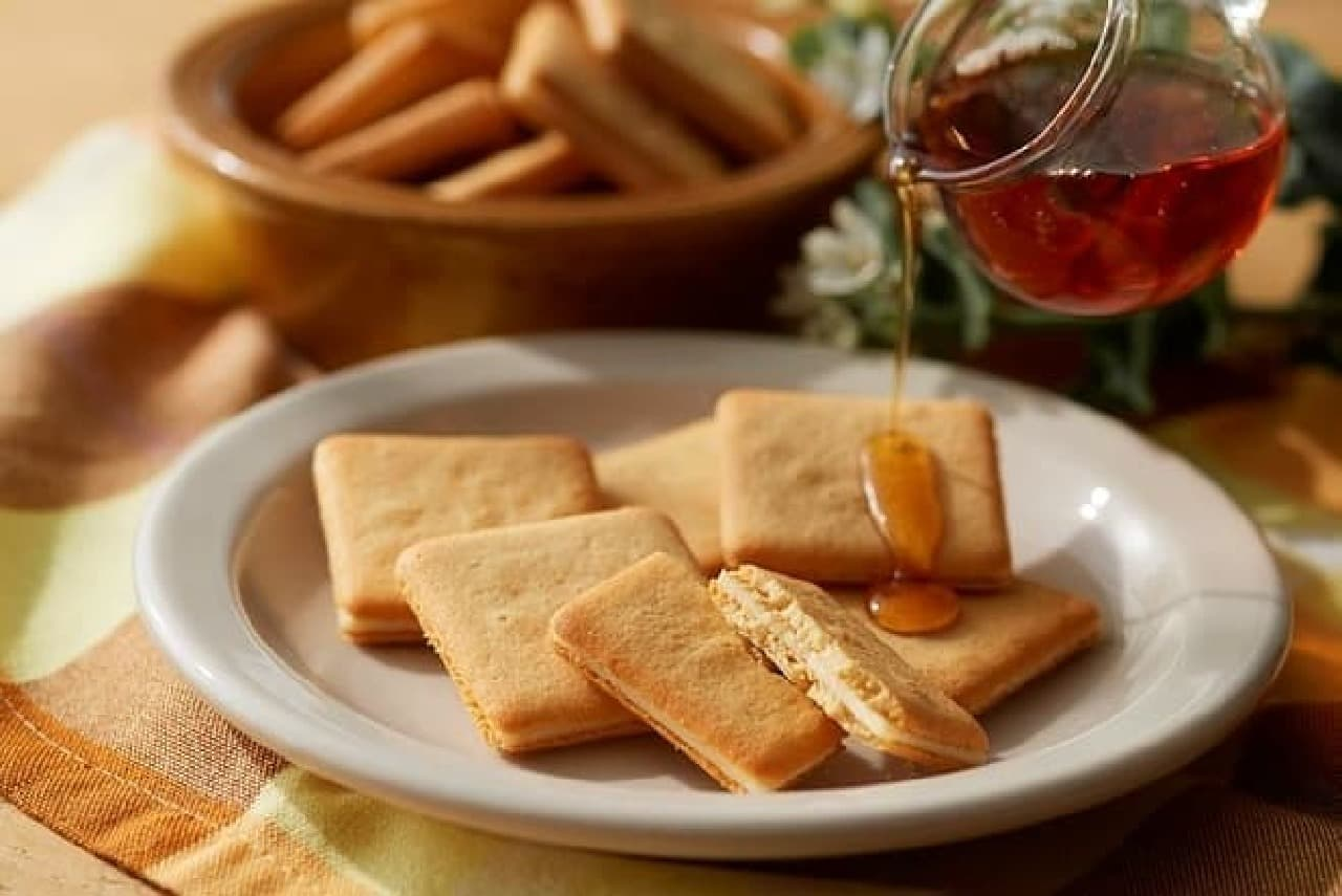 ザ・メープルマニアに「メープルバタークッキー」