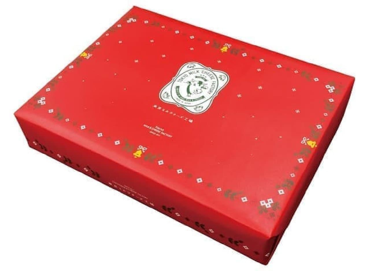 東京ミルクチーズ工場「クリスマスギフトBOX」