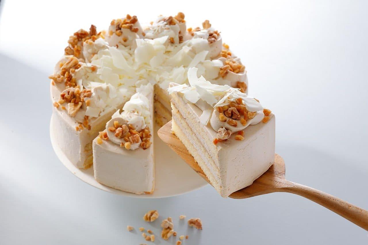 スターバックス「ホワイトモカケーキ」