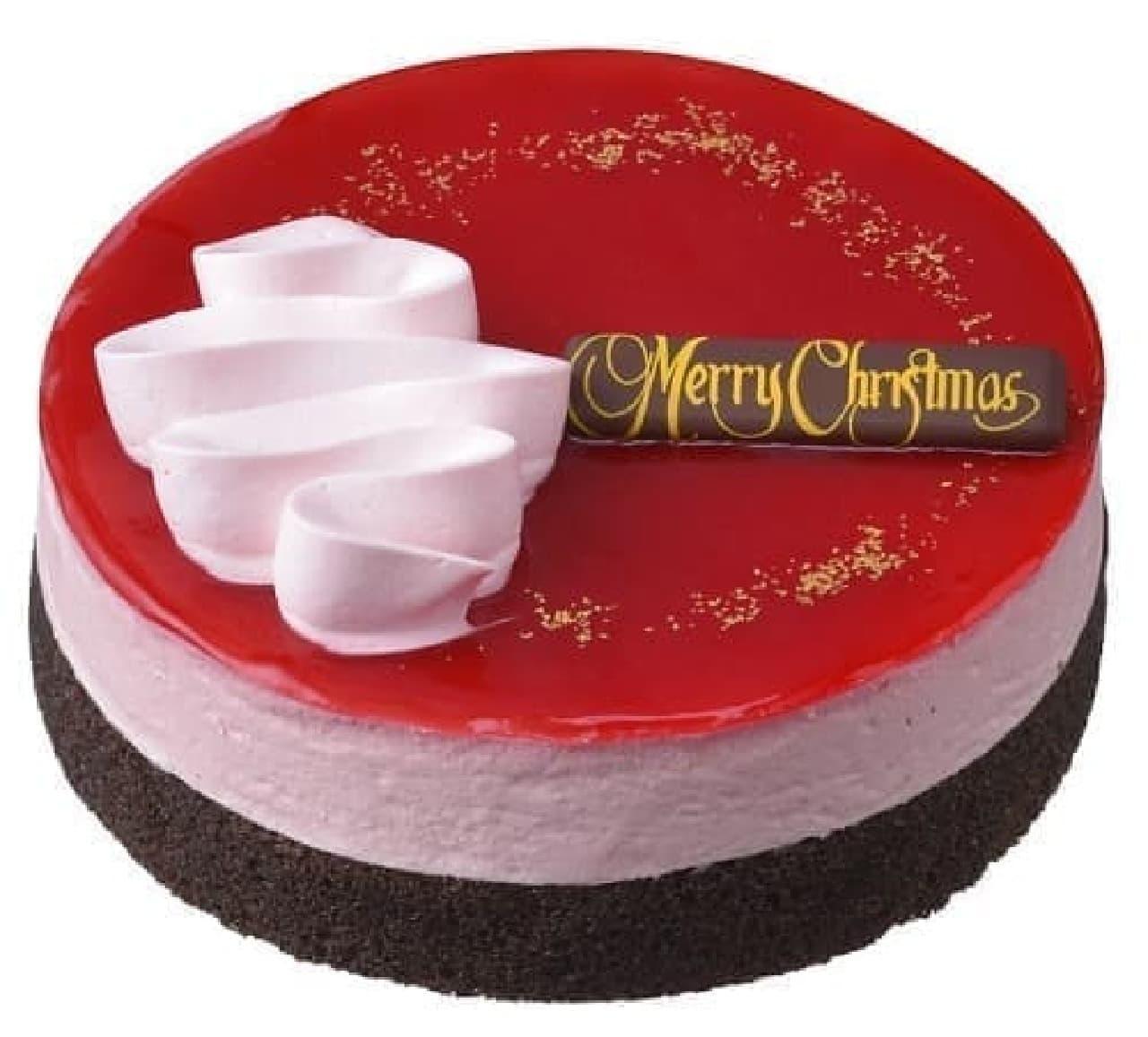 銀座コージーコーナー通販限定「クリスマスチョコレートケーキ(5号)」