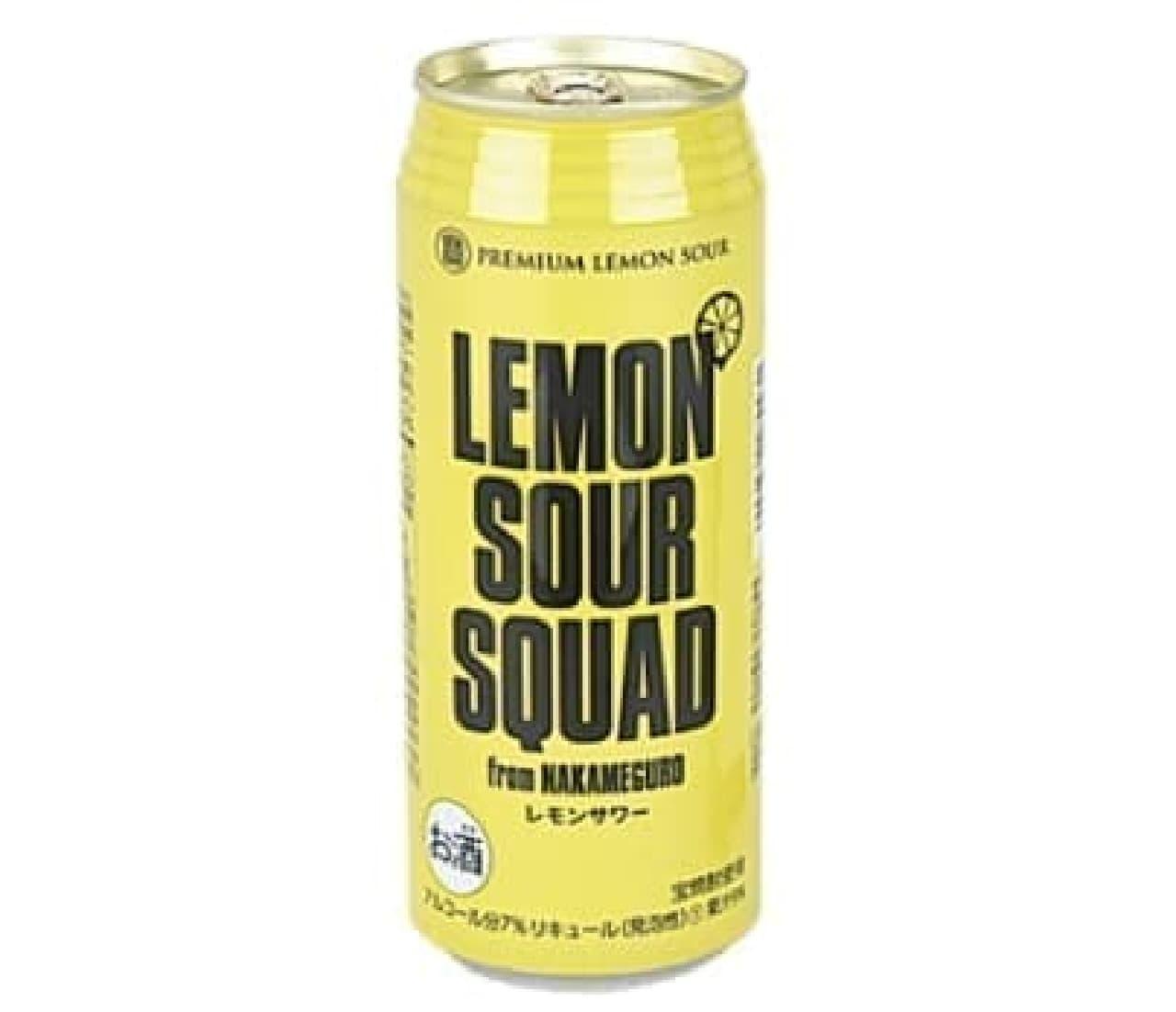 レモンサワースクワッド 500ml