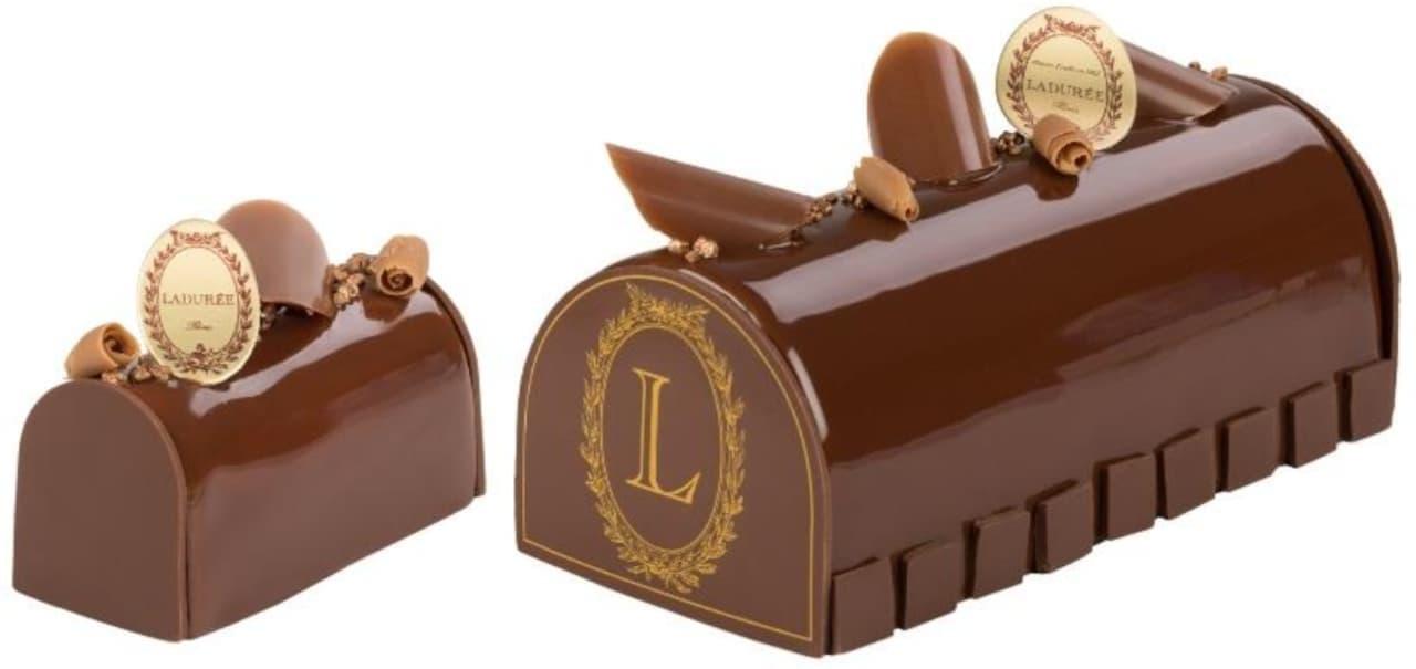 ラデュレに苺たっぷり「ショートケーキ・ラデュレ」! -- クリスマスケーキも [えん食べ]
