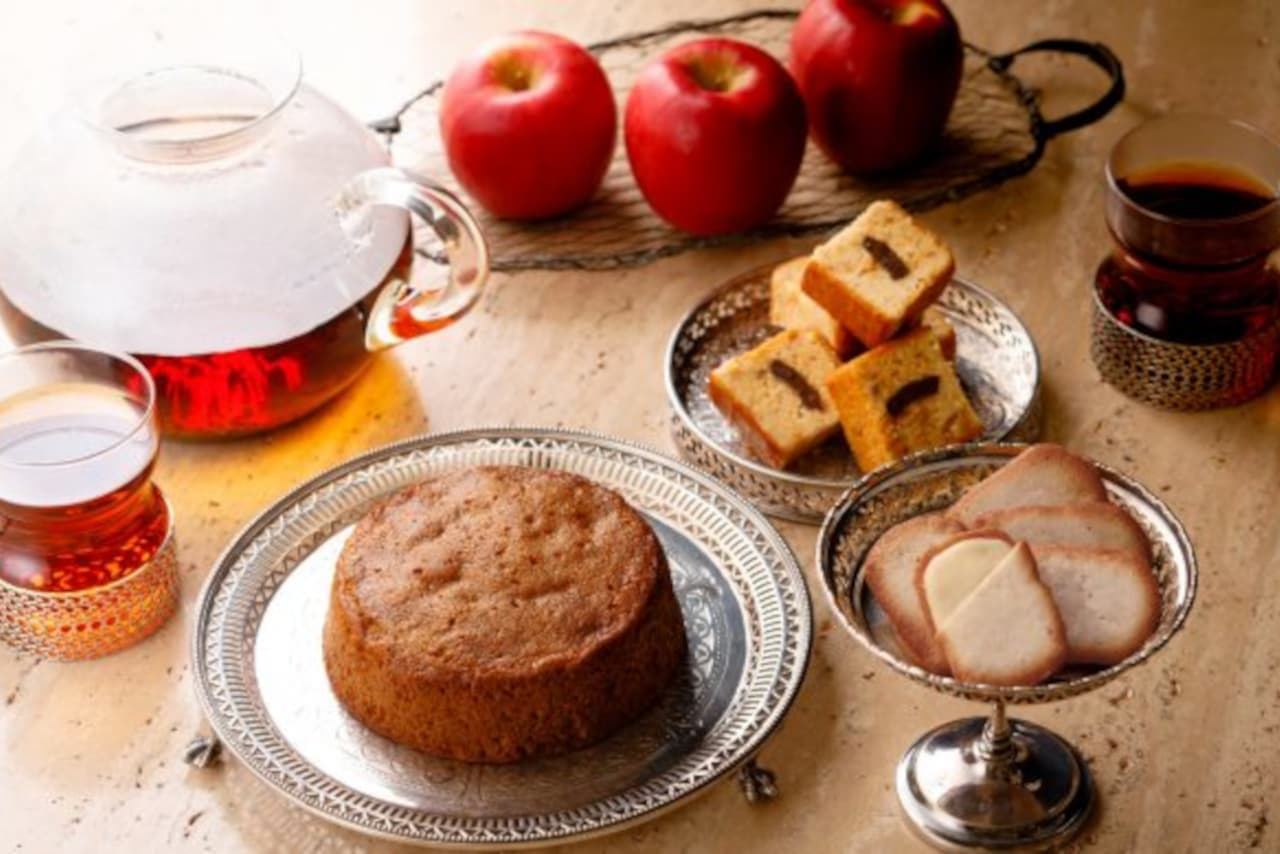 デメル「林檎とクルミのトルテ」など冬限定リンゴ菓子3種まとめ