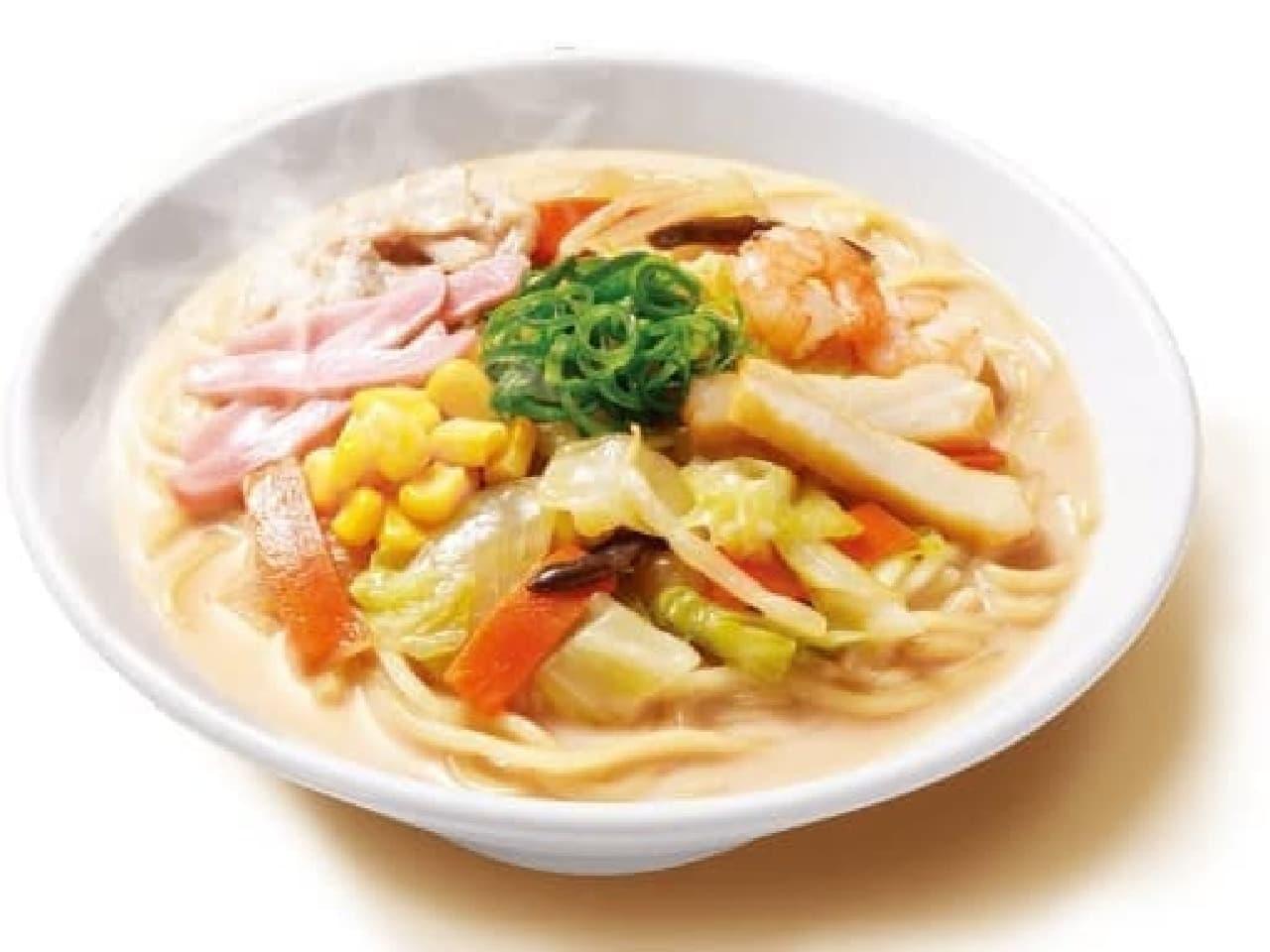 九州のファミリーマート限定「香ばし炒め野菜のちゃんぽん」