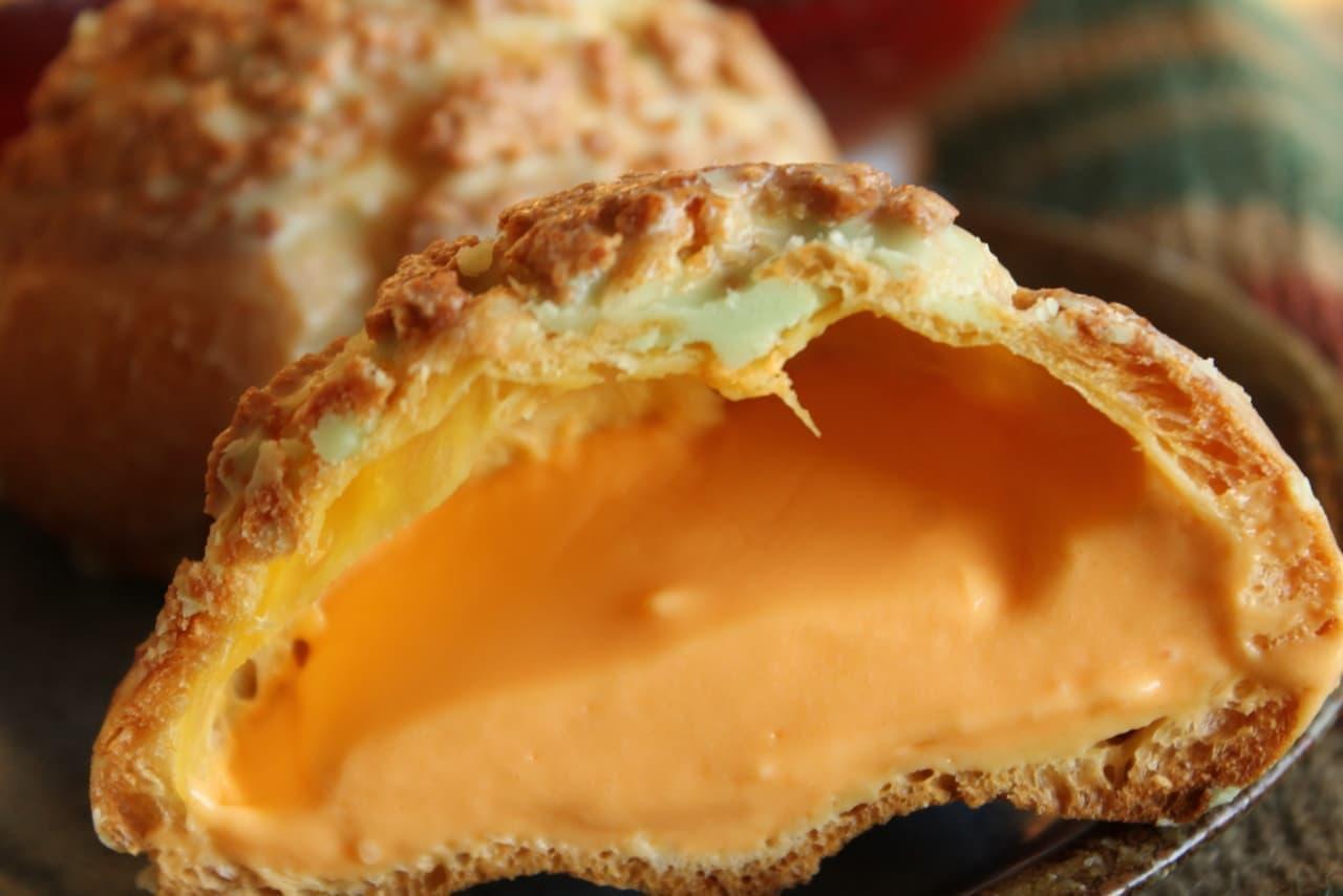 ファミマ「メロンクッキーシュー」