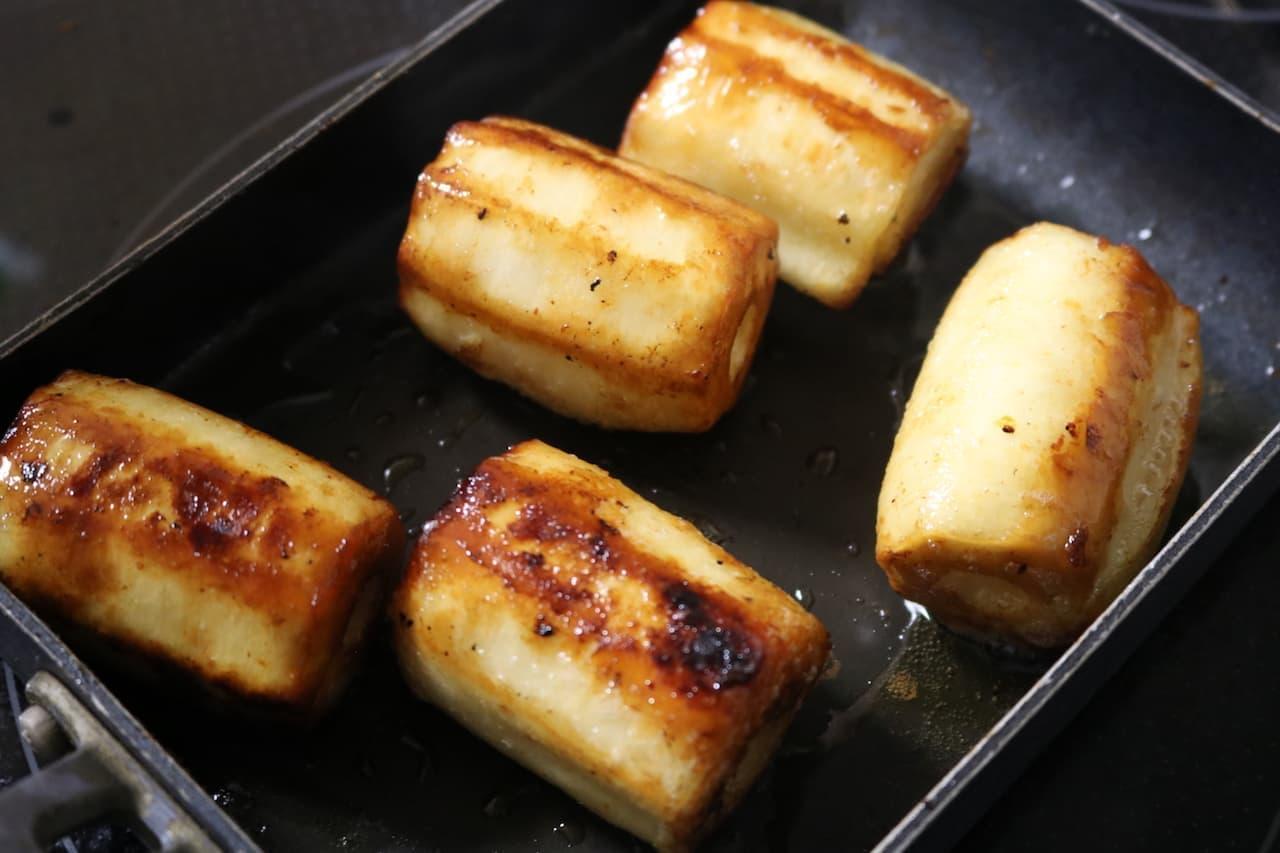 レシピ「ちくわぶカヌレ」