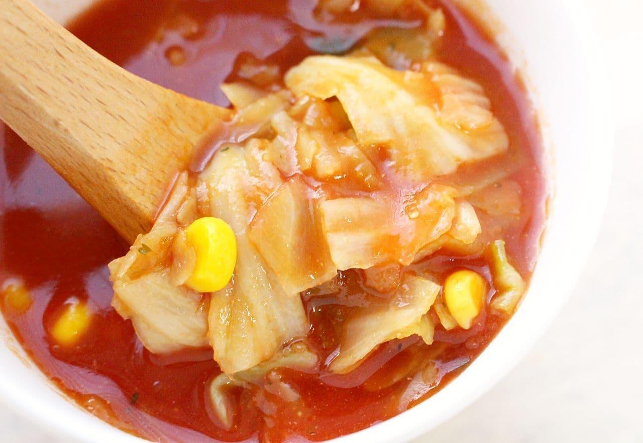 カップスープ「おどろき野菜 1日分の野菜」