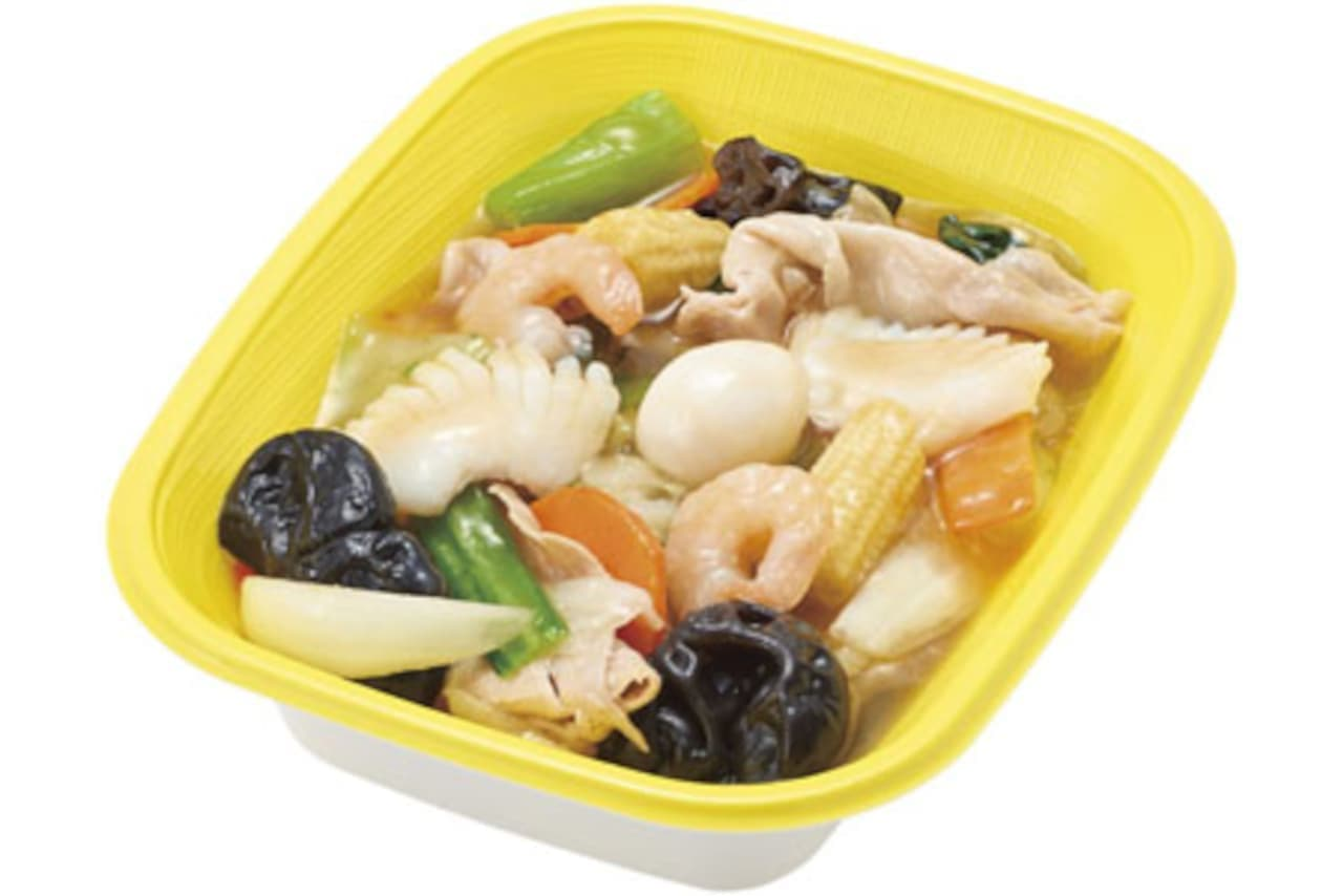 ほっかほっか亭に「八宝菜」「中華丼」