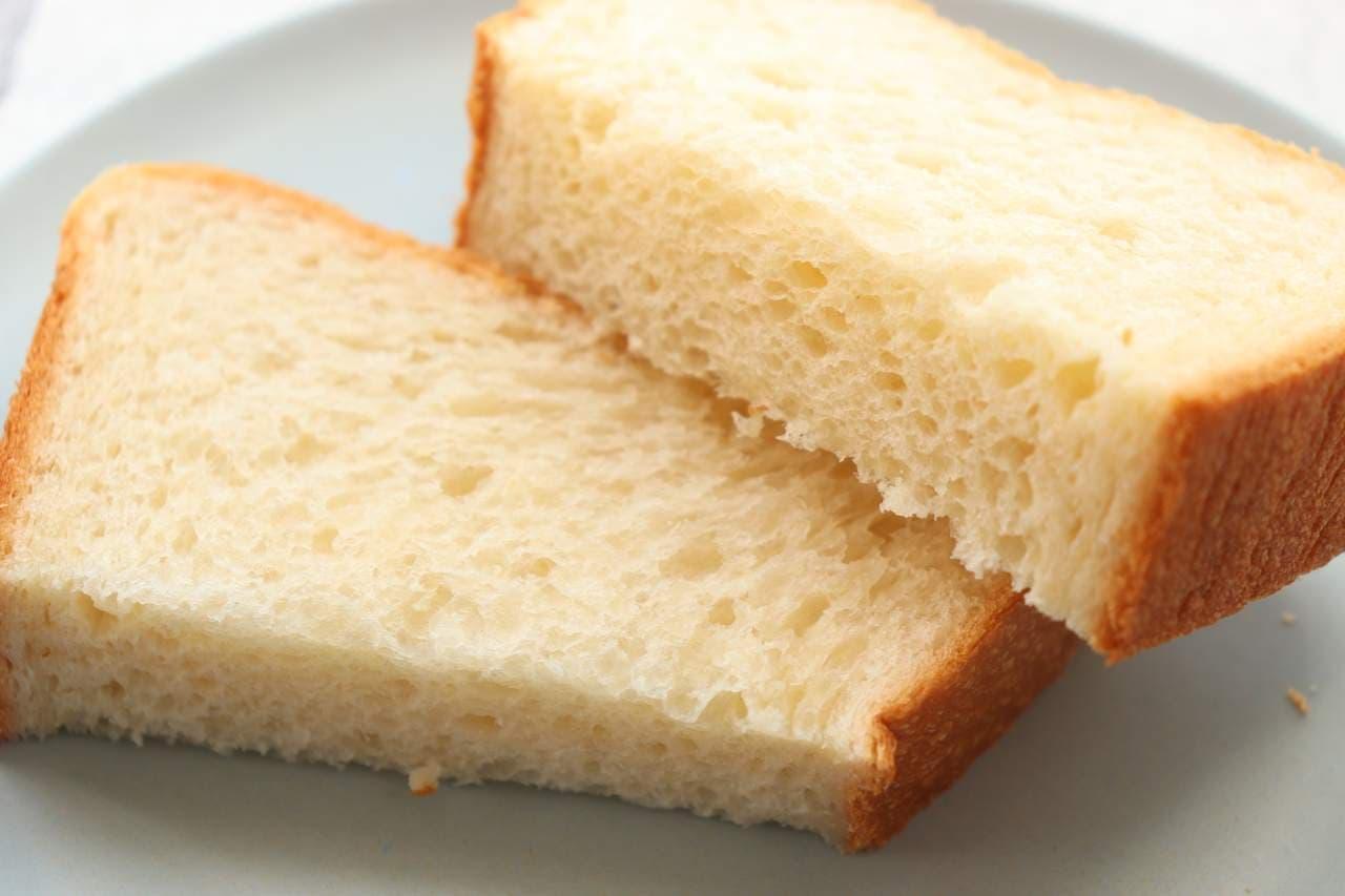 ファミマ「究極のしっとりもっちり食パン」と本家「俺のBakery」の食パン食べ比べ