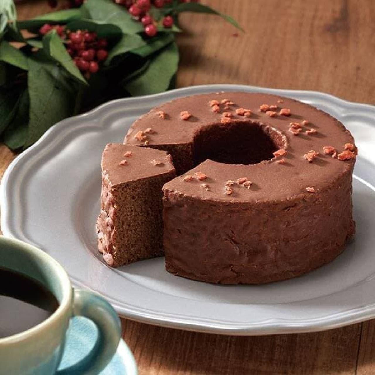 焙煎珈琲ノエル&チョコレートバウムクーヘンセット